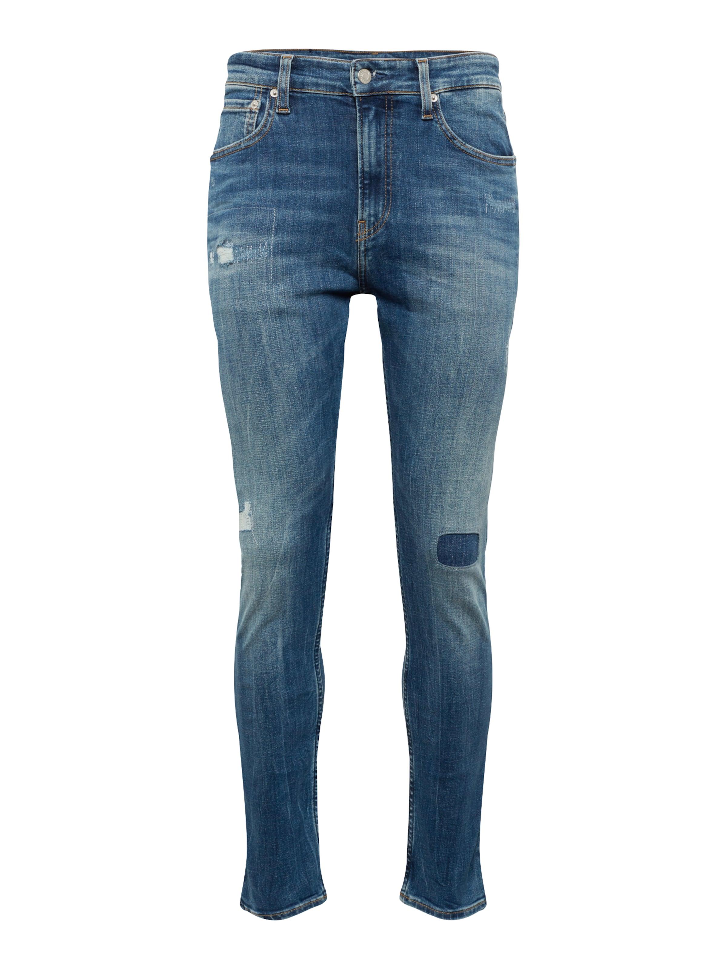 Jeans Skinny' In Calvin Blue Denim 016 Klein 'ckj rdoeBCx