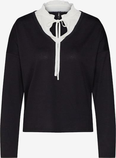 ONLY Sweter 'ASHLEY' w kolorze czarny / białym, Podgląd produktu