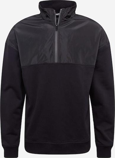 Urban Classics Sweatshirt in anthrazit / schwarz, Produktansicht