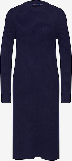 POLO RALPH LAUREN Pletené šaty 'LS DRESS-LONG SLEEVE-CASUAL DRESS' - námornícka modrá, Produkt