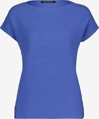 Betty Barclay Basic Shirt mit Rippenstruktur in blau, Produktansicht