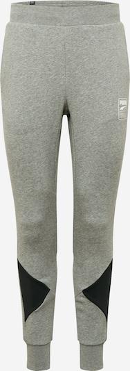 PUMA Sportske hlače 'Rebel ' u siva / crna, Pregled proizvoda
