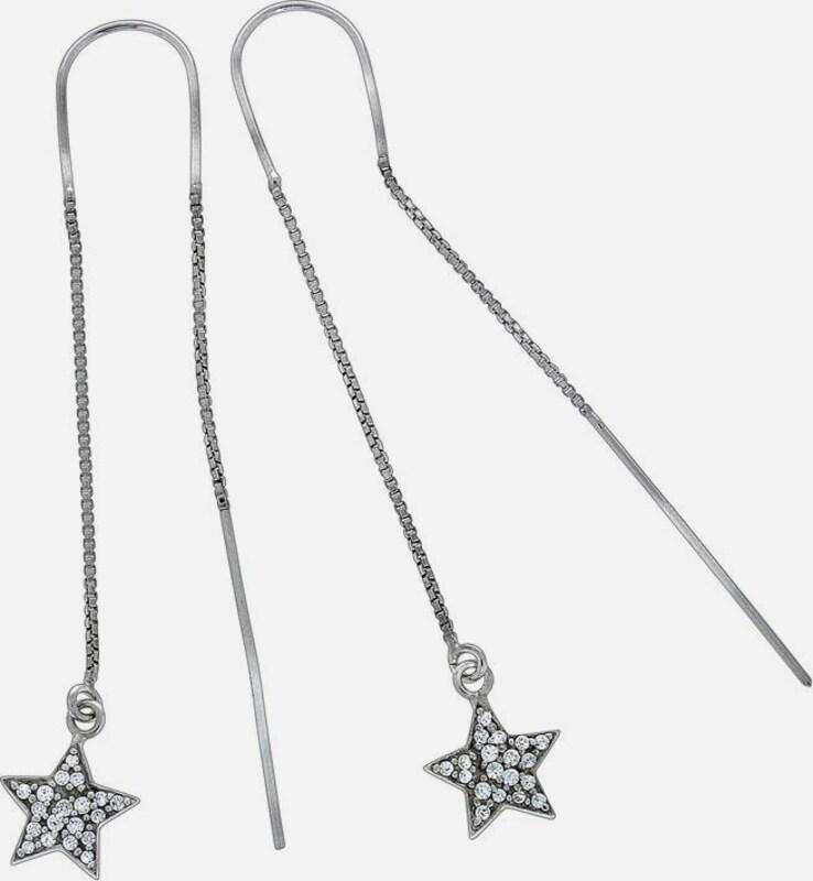FIRETTI Paar Ohrhänger 'Sterne'