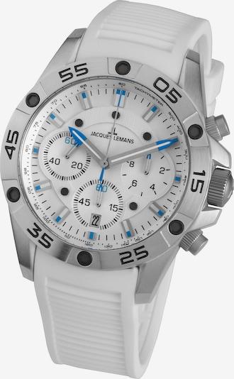 Jacques Lemans Armbanduhr 'Liverpool' in blau / schwarz / weiß, Produktansicht