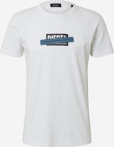 DIESEL Shirt 'T-DIEGOS-X40' in mischfarben / weiß, Produktansicht