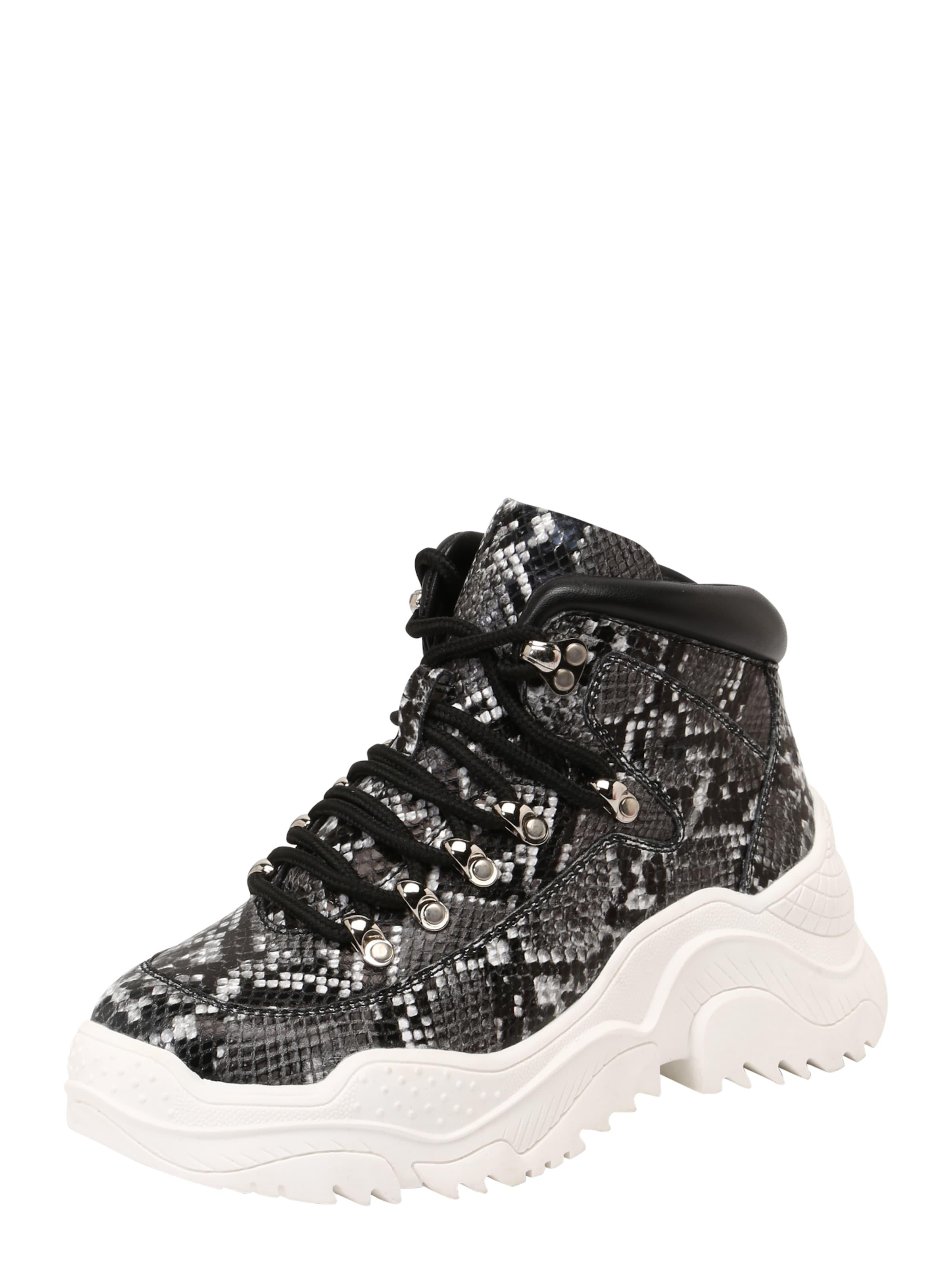 Campbell 'debris' Jeffrey Sneaker In GrauSchwarz XiPOZku