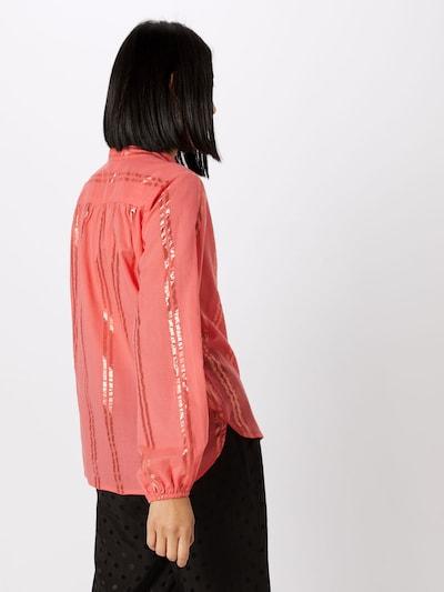 Bluză 'Vernill' CULTURE pe coral: Privire spate