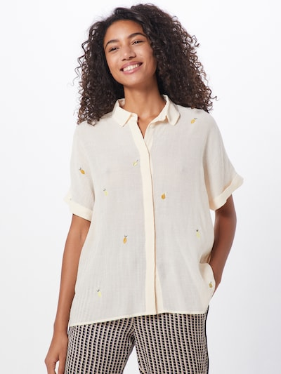 NÜMPH Bluzka 'NUBABE' w kolorze brzoskwiniowym, Podgląd na modelu(-ce)