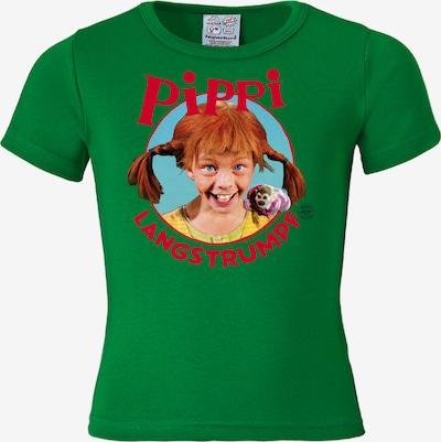 LOGOSHIRT T-Shirt in grün / mischfarben, Produktansicht