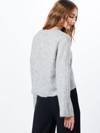 Megztinis iš Noisy may , spalva - šviesiai pilka / margai pilka: Vaizdas iš galinės pusės