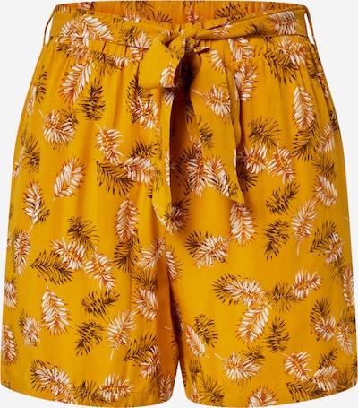 VILA Hlače | rumena / oranžno rdeča barva: Frontalni pogled