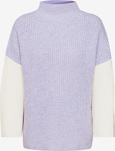 Megztinis 'Tamega moulinee' iš Someday , spalva - kremo / pastelinė violetinė, Prekių apžvalga