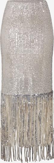 SOAKED IN LUXURY Rock 'SLNicole Skirt' in creme / silber, Produktansicht