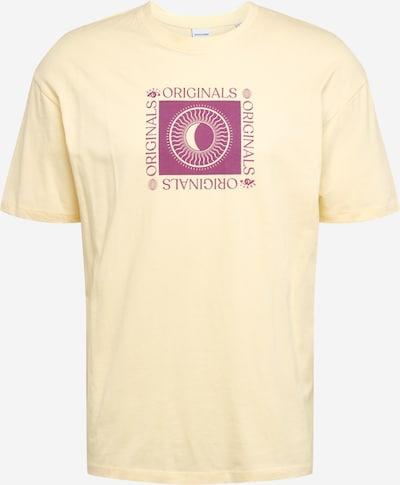 JACK & JONES Koszulka w kolorze żółtym, Podgląd produktu