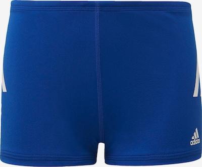 ADIDAS PERFORMANCE Sportbadeshorts in blau / weiß, Produktansicht