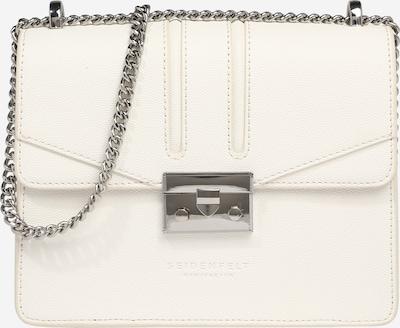 Seidenfelt Manufaktur Tasche 'ROROS' in weiß, Produktansicht