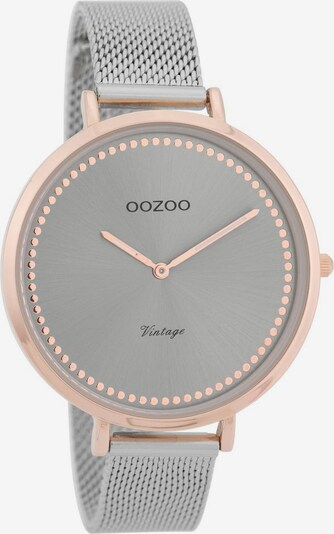 OOZOO Uhr 'C9856' in rosegold / grau / silber, Produktansicht