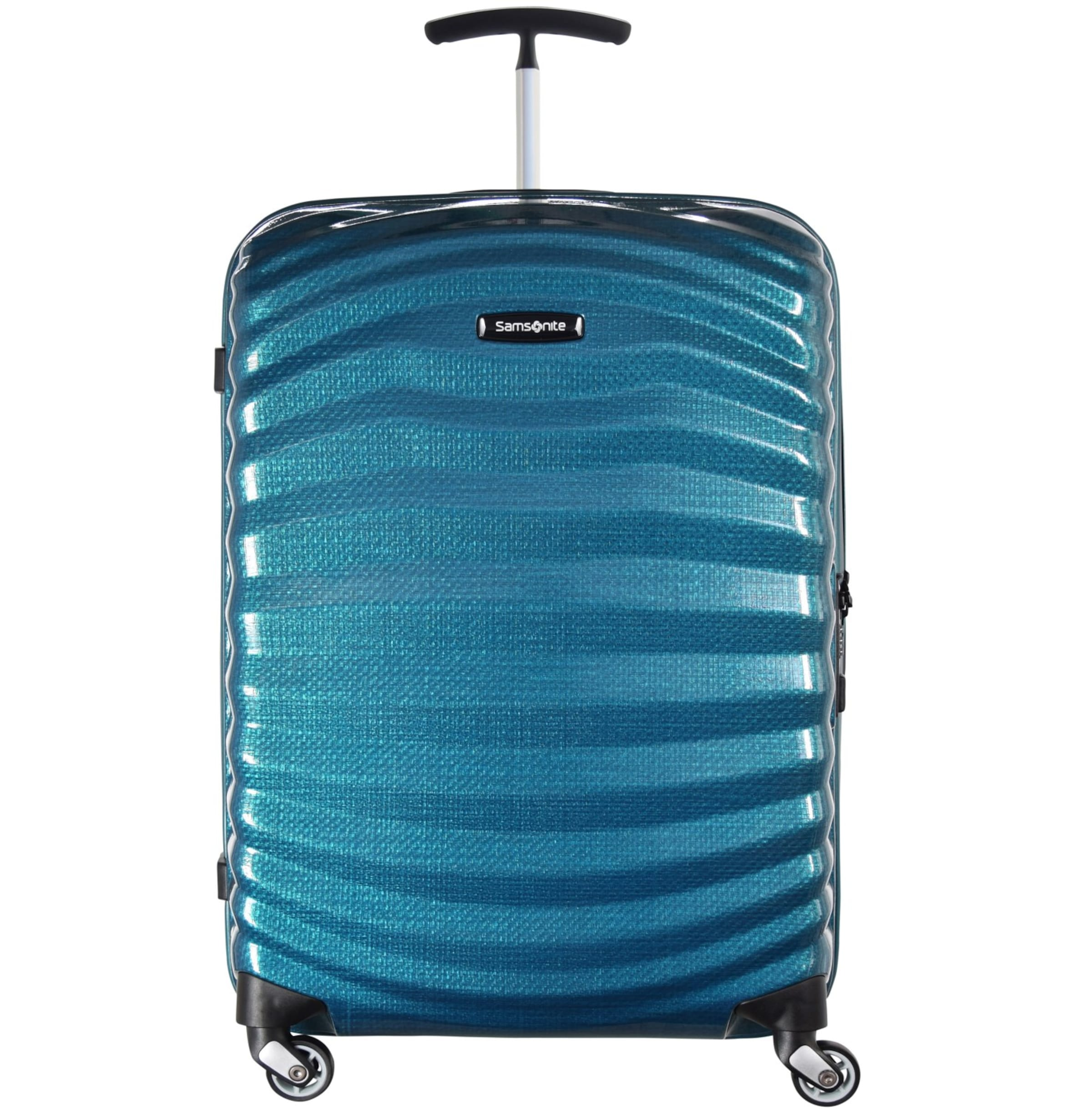 Samsonite 'lite 4 Trolley Schwarz rollen' In shock Spinner rshQxtBdC