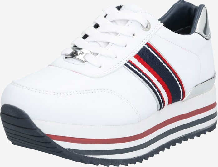 TOM TAILOR Sneakers laag in Wit PzcBCDf6
