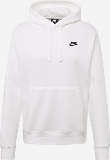 Nike Sportswear Sweatshirt 'Club' in weiß, Produktansicht