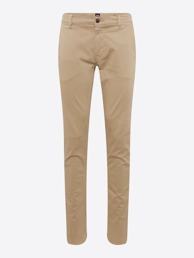 BOSS Chinohose in camel: Frontalansicht