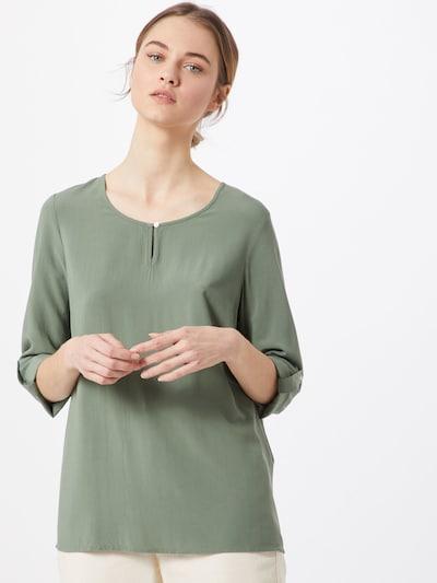 VERO MODA Bluzka 'VMMAGGIE' w kolorze zielonym, Podgląd na modelu(-ce)