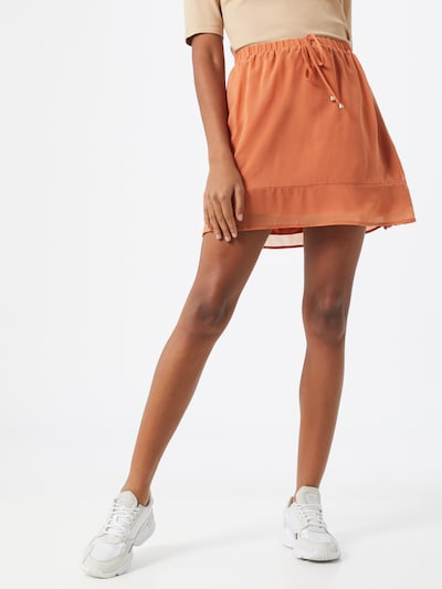ABOUT YOU Rock 'Celia skirt' in orange: Frontalansicht