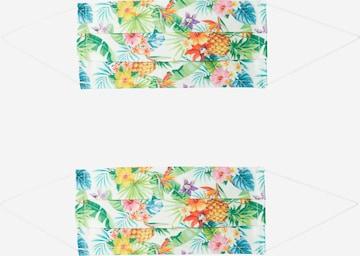 Zwillingsherz Maska z materiału '2er Pack Hawaii' w kolorze mieszane kolory