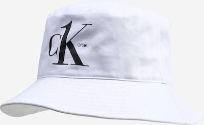 Calvin Klein Jeans Mütze 'BUCKET' in schwarz / weiß, Produktansicht