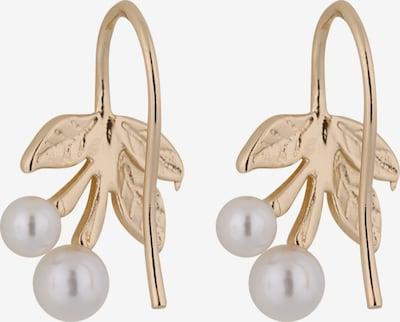 ABOUT YOU Boucles d'oreilles 'Joelle' en or / blanc: Vue de dos