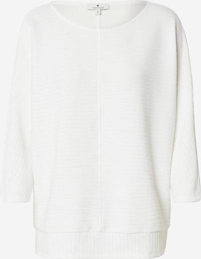 TOM TAILOR Sweatshirt in weiß, Produktansicht