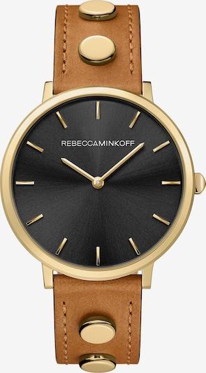 Rebecca Minkoff Uhr 'Major' in braun / gold, Produktansicht