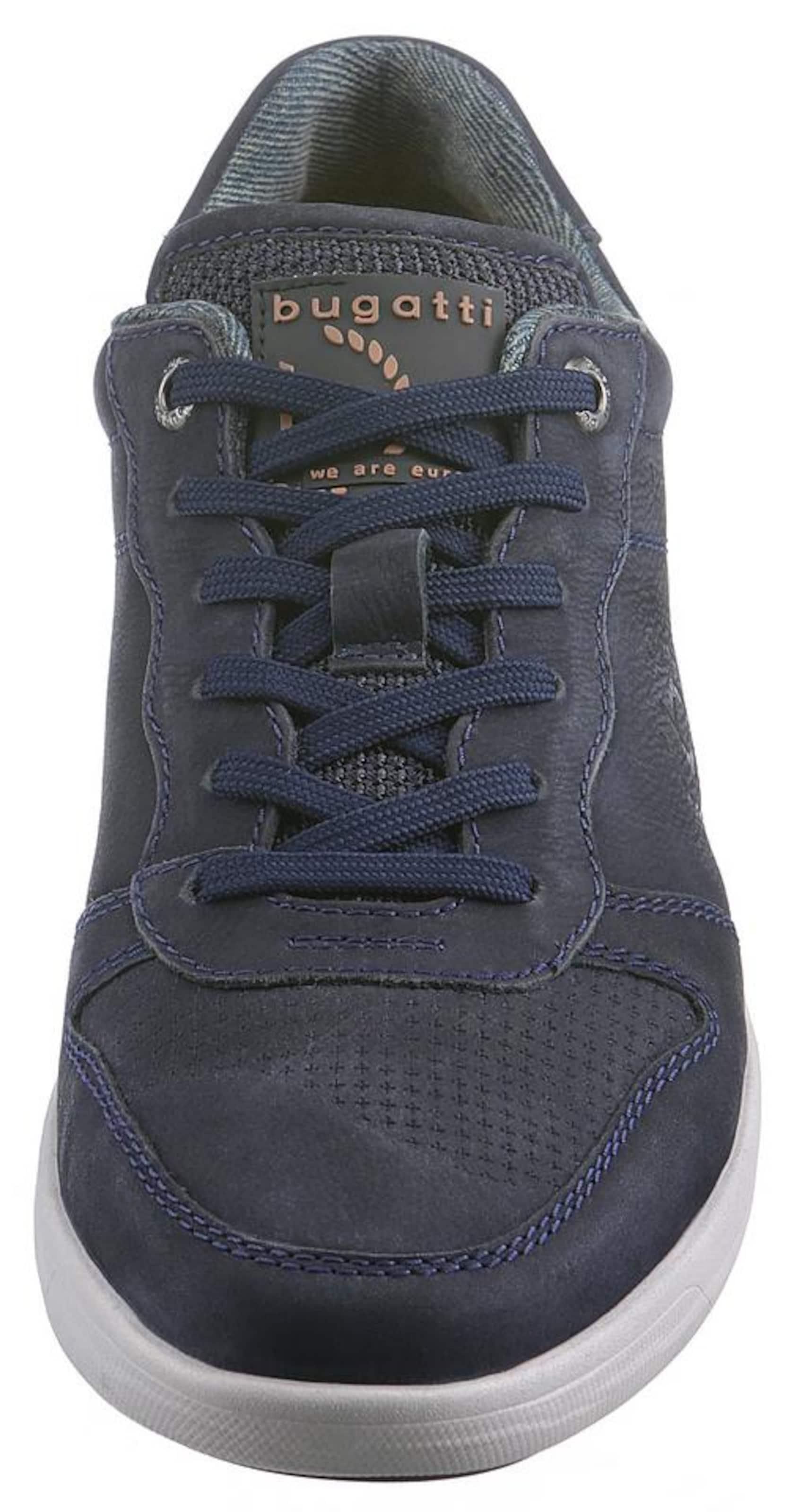 Baskets Bugatti Clair grisBronze Bleu Basses En Gris vm0nN8w