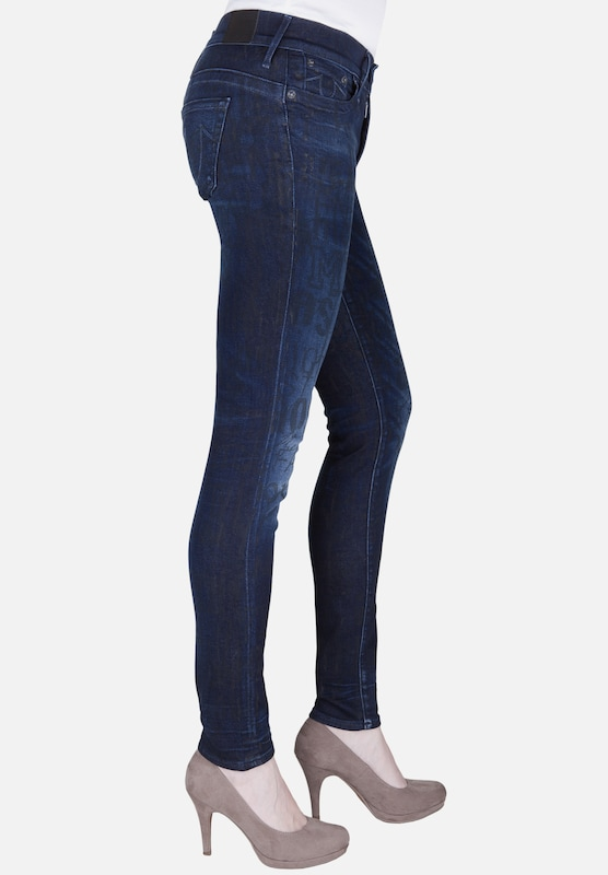 True Religion Jeans CHRISSY MID RISE