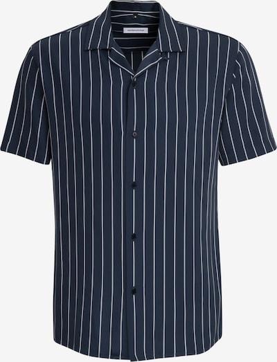 SEIDENSTICKER Business Hemd ' Shaped ' in blau / weiß, Produktansicht