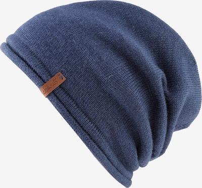 chillouts Mütze 'Leicester' in blau, Produktansicht