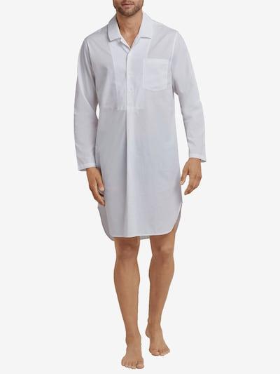 SEIDENSTICKER Nachthemd ' Nachthemd 1/1 Arm ' in weiß, Modelansicht