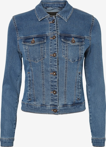 VERO MODA Between-Season Jacket 'HOT SOYA' in Blue