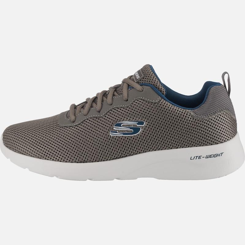 SKECHERS 'DYNAMIGHT 2.0 RAYHILL' Sneakers Low in rauchgrau