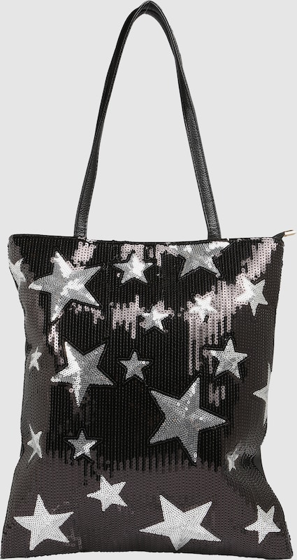 sweet deluxe Shopper mit Paillettendekor 'Star'