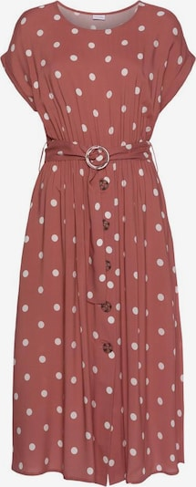 Lascana Kleid In Rot Weiss About You