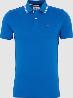 Tommy Jeans Shirt 'TJM ESSENTIAL DETAIL' in Blauw