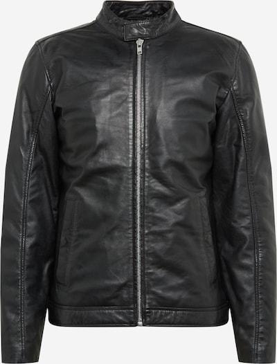 Lindbergh Lederjacke in schwarz, Produktansicht