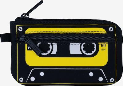 OXMOX Schlüsseletui 'New Cryptan' in gelb / schwarz, Produktansicht