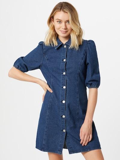 GLAMOROUS Košilové šaty - modrá džínovina, Model/ka