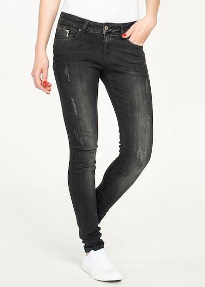 Miracle of Denim Jeans 'Eva' in schwarz, Modelansicht