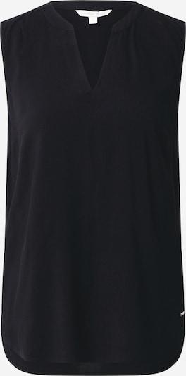 TOM TAILOR DENIM Bluse in schwarz, Produktansicht