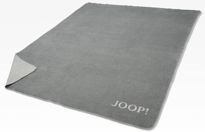 JOOP! Wohndecke »Doubleface«, in zweifarbigen Design in dunkelgrau / naturweiß, Produktansicht