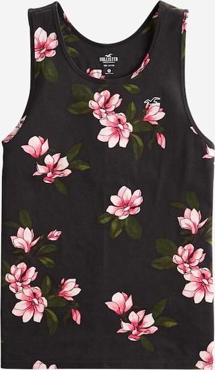 HOLLISTER Shirt in pink / schwarz / weiß, Produktansicht