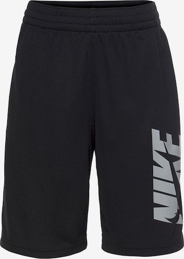 NIKE Športové nohavice - sivá / čierna, Produkt